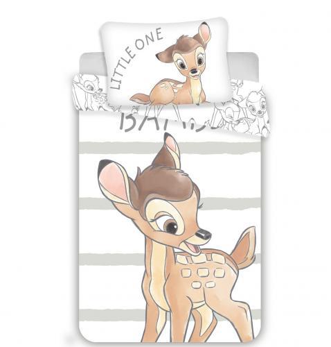 Jerry Fabrics povlečení do postýlky Bambi stripe baby 135x100 cm