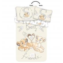 Jerry Fabrics povlečení do postýlky Lví Král best friends baby 135x100 cm