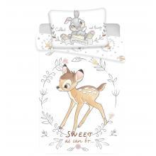 Jerry Fabrics povlečení do postýlky Bambi Sweet baby 135x100 cm