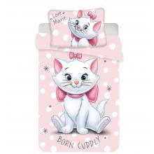 Jerry Fabrics povlečení do postýlky Marie Cat Dots baby 135x100 cm