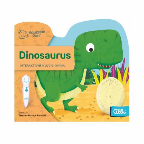 Albi KOUZELNÉ ČTENÍ Minikniha s výsekem Dinosaurus