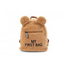 Childhome Dětský batoh My First Bag Teddy Beige