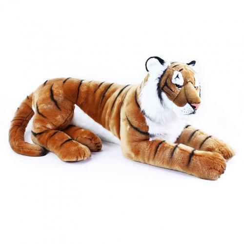 Rappa Velký plyšový tygr ležící 92 cm