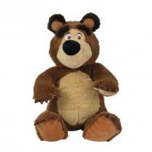 Simba Máša a medvěd Plyšový medvěd 20 cm, sedící