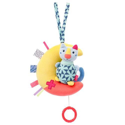 Fehn Color Friends hrací kočka na měsíci