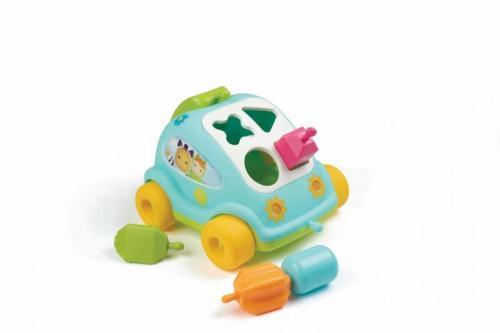 Smoby Cotoons autíčko vkládačka modrá