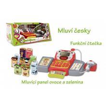 Teddies Pokladna mluvící česky digitální s doplňky