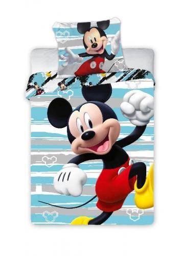 Faro povlečení do postýlky Mickey Happy 135x100 cm