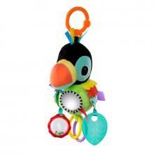 Bright Starts Hračka na C kroužku Playful Pals papoušek 0m+