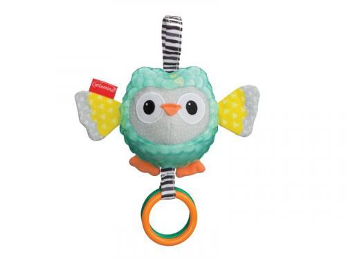 Infantino Závěsná sova Sensory