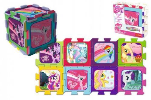 Trefl Pěnové puzzle My Little Pony/Hasbro 32x32x1cm 8ks