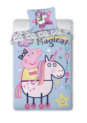 Faro Bavlněné povlečení Peppa Pig magic 140x200 cm