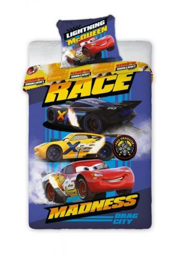 Faro Bavlněné povlečení Cars 3 Race 140x200 cm