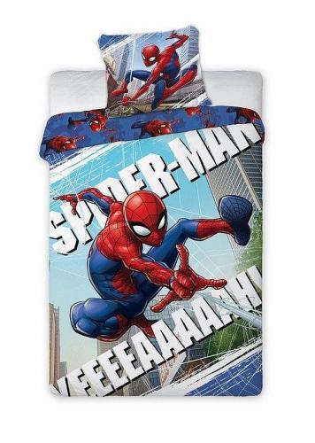 Faro Bavlněné povlečení Spiderman Pavučina 140x200 cm