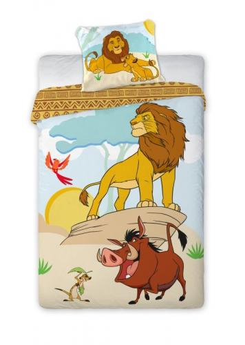 Faro Bavlněné povlečení Lví Král 140x200 cm
