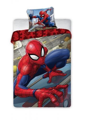 Faro Bavlněné povlečení Spiderman město 140x200 cm