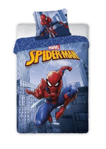 Faro Bavlněné povlečení Spiderman city blue 140x200 cm