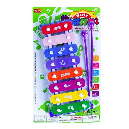 Rappa Dětský xylofón 27 cm
