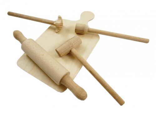 Rappa Dřevěná kuchyňská sada malá