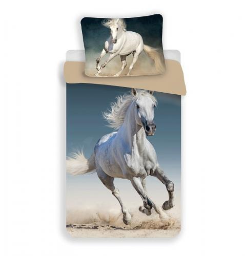 Jerry Fabrics Bavlněné povlečení Kůň 03 140x200 cm