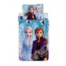 Jerry Fabrics Bavlněné povlečení Frozen Ledové Království 2 Snowflakes 140x200 cm