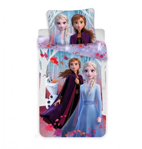 Jerry Fabrics Bavlněné povlečení Frozen Ledové Království 2 Leaves 140x200 cm