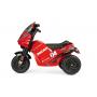 Zahraj si na skutečného motocyklistu!  Dokonce i ty nejmenší děti znají nejslavnější mistry na závodních motocyklech. Desmosedici jim splní tento sen a budou se cítit jako legendární italská hvězda.