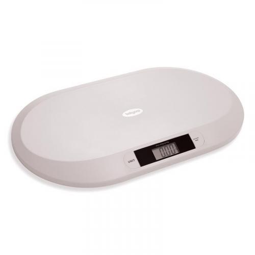 BabyOno Váha elektronická pro děti do 20 kg šedá