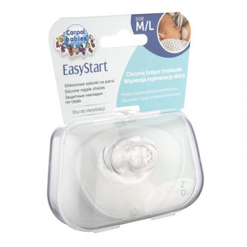 Canpol babies Chránič prsní bradavky EasyStart univerzální M/L 2 ks
