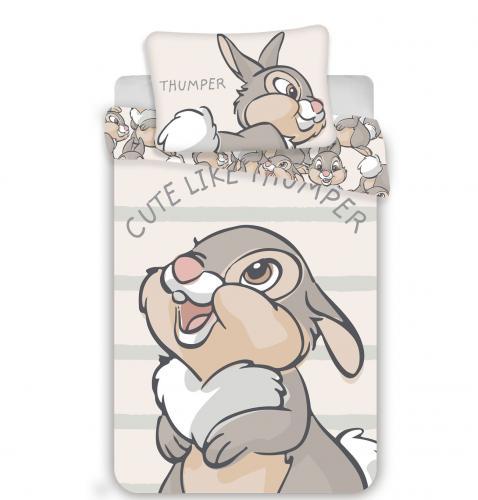Jerry Fabrics povlečení do postýlky Thumper baby 135x100 cm