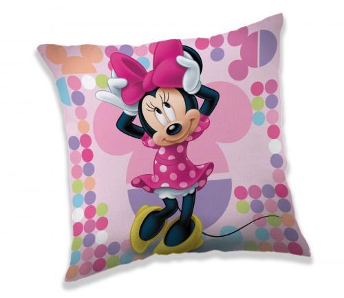 Jerry Fabrics polštářek Minnie Pink 03 40x40 cm