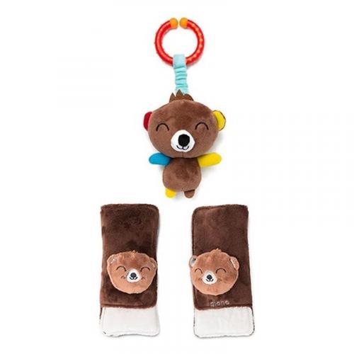 Diono chránič pásu Soft Wraps™ & Toy Bear
