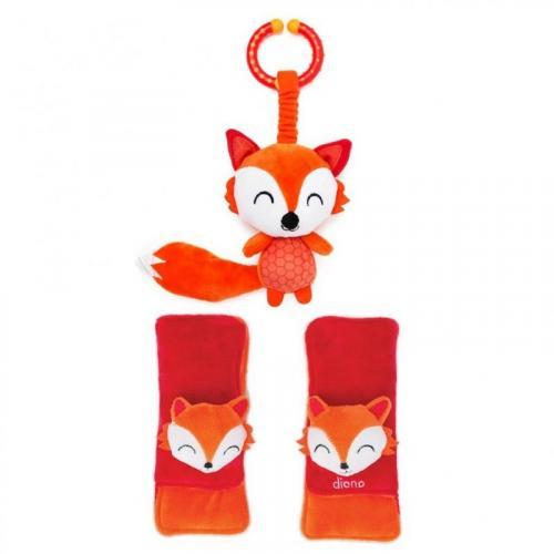 Diono chránič pásu Soft Wraps™ & Toy Fox