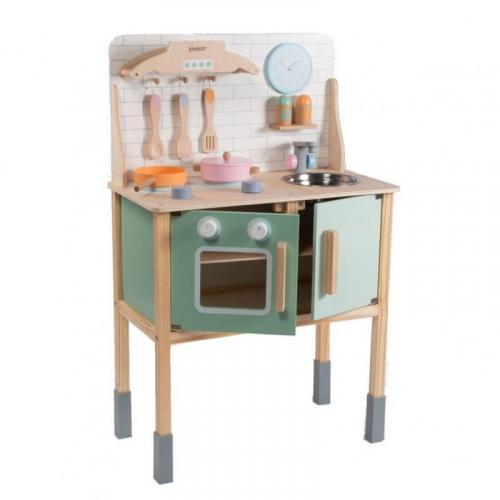 Jouéco Dřevěná kuchyňka s příslušenstvím