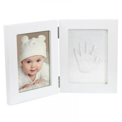 Dooky Double Frame Handprint & Luxury Memory Box