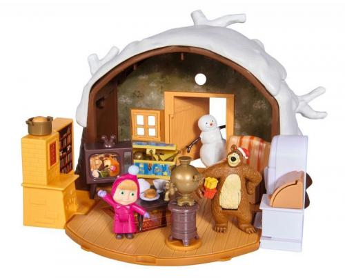 Simba Máša a medvěd Zimní dům medvěda
