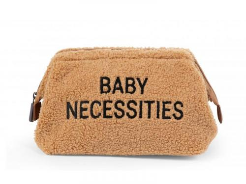 Childhome Toaletní taška Baby Necessities Teddy Beige