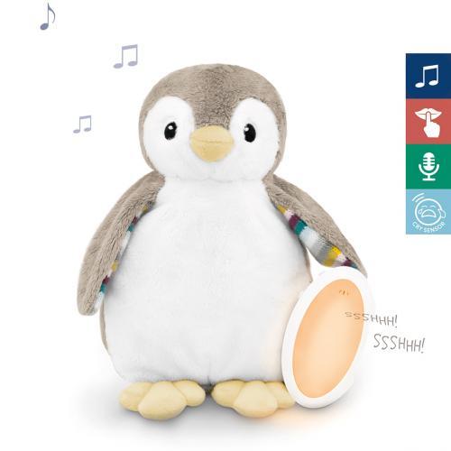 ZAZU Tučňák PHOEBE - Šumící zvířátko s nočním světlem a hlasovým rekordérem