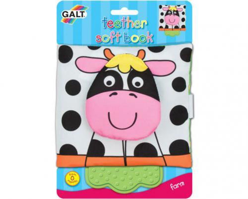 ADC Blackfire Galt Dětská knížka s kousátkem - na farmě