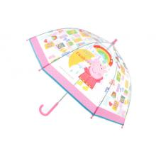 Lamps Deštník Prasátko Peppa průhledný manuální