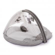 Bo Jungle Hrací deka s hrazdičkou B-Play Gym Apple Grey