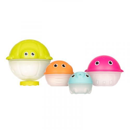 Canpol babies Sada kreativních hraček do vody s dešťovou sprchou OCEAN