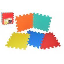 Wiky Pěnové puzzle 32x32 cm, 10 ks