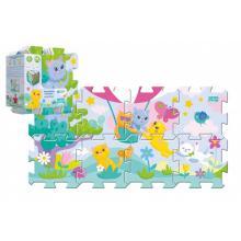 Trefl Pěnové puzzle Koťátka 32x32cm 8 ks v sáčku
