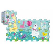 Trefl Pěnové puzzle Hra s lamou 32x32cm 8 ks v sáčku