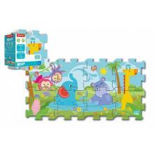 Trefl Pěnové puzzle Fisher-Price Baby 31x32cm 8 ks v sáčku