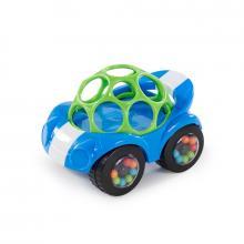 Oball Hračka autíčko Rattle & Roll modro/zelené 3m+