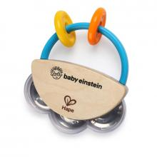 Baby Einstein Hračka dřevěná hudební tamburína HAPE 3m+