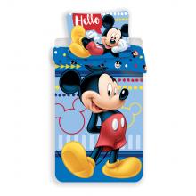 Jerry Fabrics Bavlněné povlečení Mickey 004 Hello, 140x200 cm