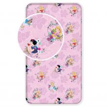 Jerry Fabrics prostěradlo Princezny Pink 02 90/200 cm